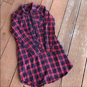 Tops - {The Story} Plaid/flannel tunic